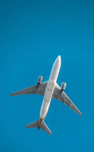 Less flights for business travel