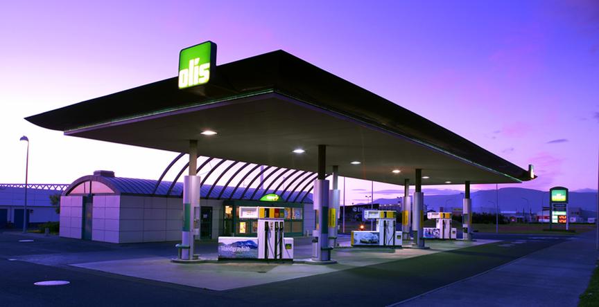 Sjoppa/bensínstöð