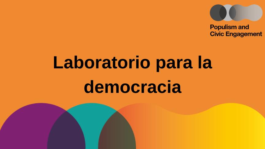 Laboratorio para la democracia - España