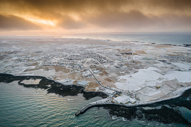 Smáhúsabyggð Nátthaga.