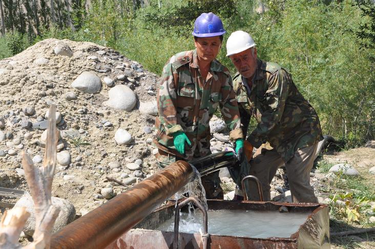 Устойчивое развитие сельского водоснабжения и санитарии
