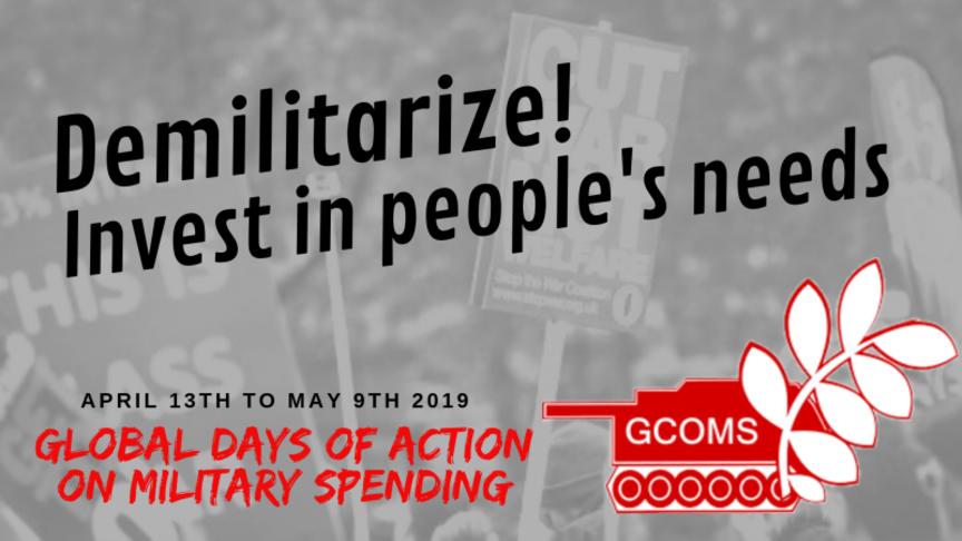 Demilitarize the USA - Demilitarize the Planet