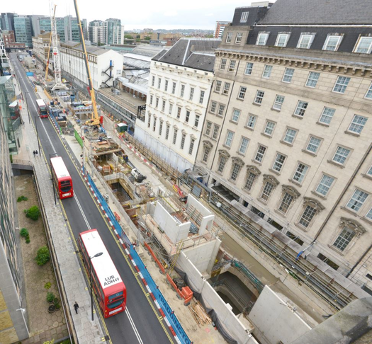 Disruption caused by Crossrail delays - Eastbourne Terrace