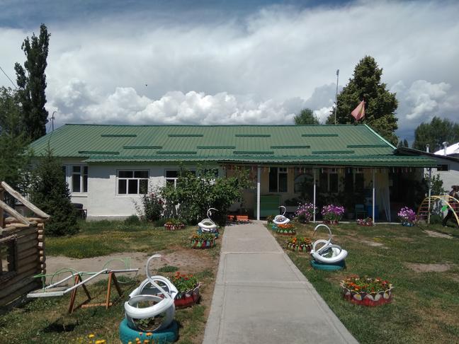 Тогуз-Булак Строительство пищеблока для детского сада