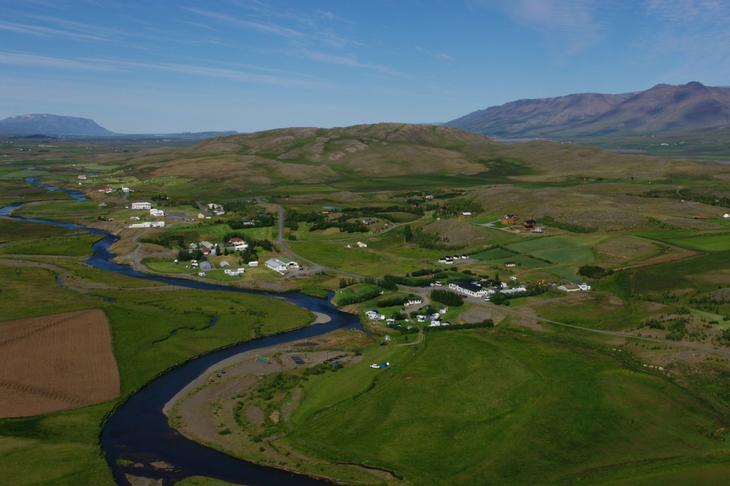 Vegtenging milli Skagafjarðar og suðurlands.