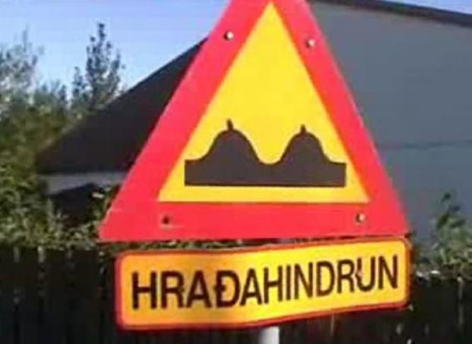Hraðahindranir á Þjóðólfsveg