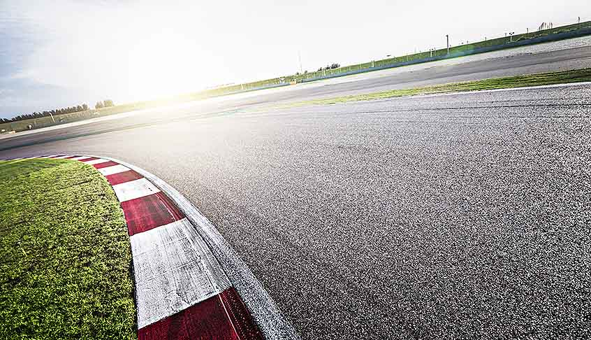 Continue with process for introduction of race track