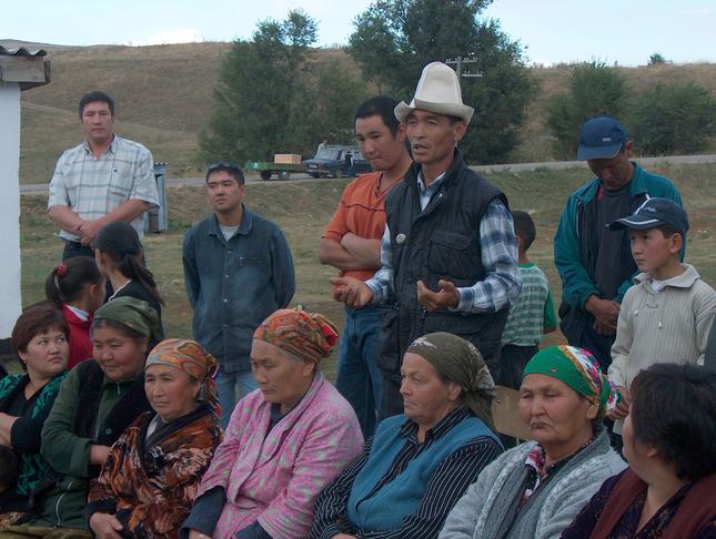 Определение приоритетов сообществ в Джалал-Абадской области