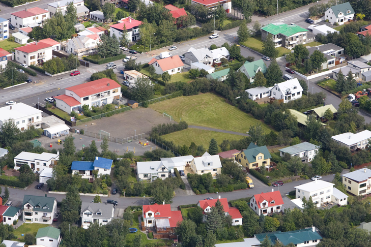 Hugmynd af íbúafundi á Kársnesi. Stelluróló.