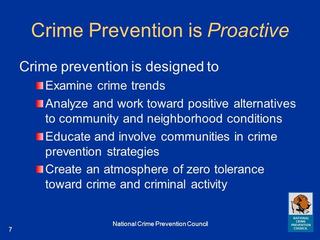 Zero Tolerance on Crime & Corruption