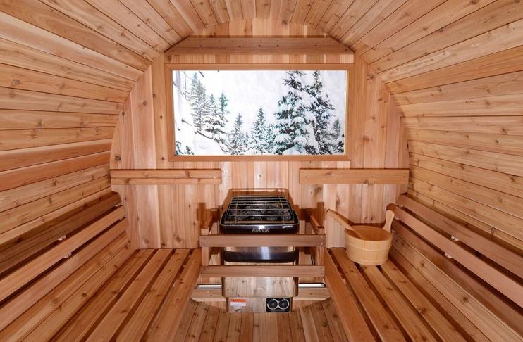 Sauna í Grafarvogslaug