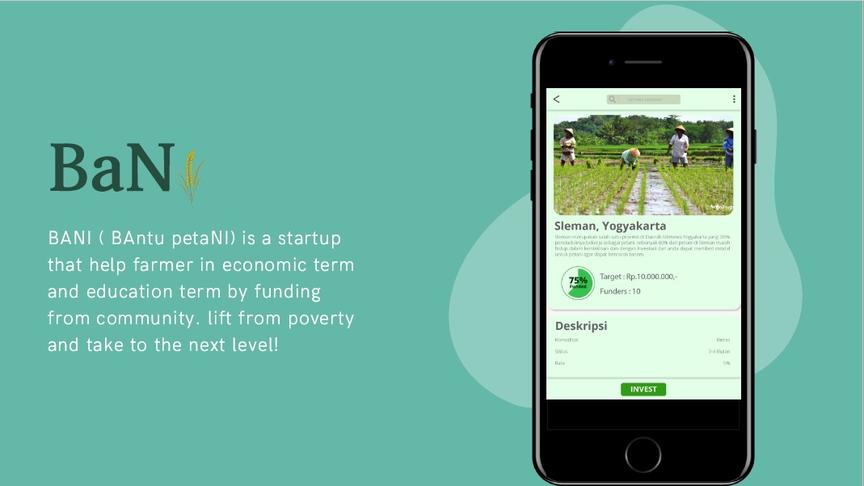 BaNi (Bantu petaNi / Help Farmers)