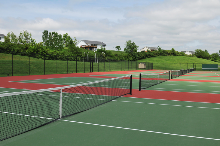 Úti tennisvellir