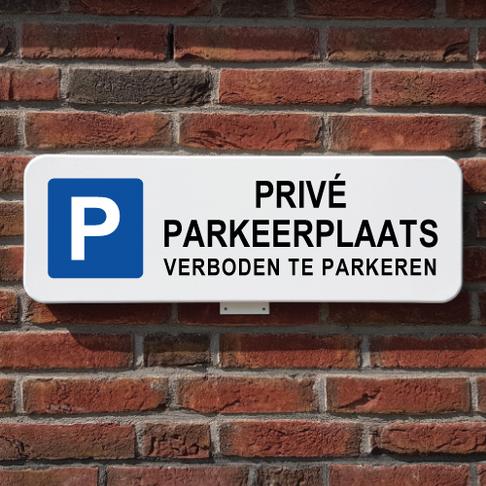 Privé parkeerplekken die niet worden gebruikt.....
