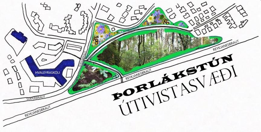 Þorlákstún - útivistasvæði og matjurtagarðar