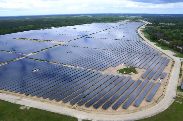 Creating Photovoltaics Fields