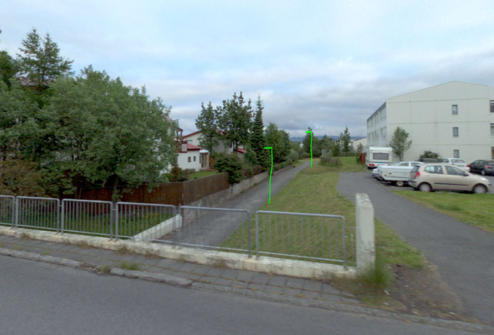 Vantar götulýsingu á göngustíg að undirgöngum við Suðurhóla