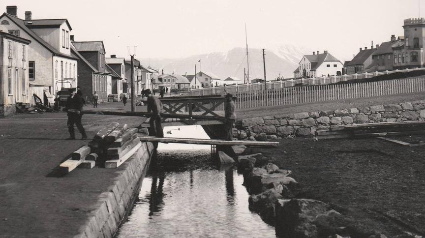 Lækur í Suðurgötu
