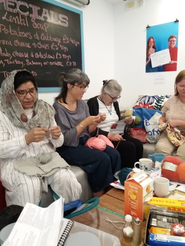 Knit & Natter for social cohesion and participation