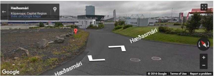 Auðvelda gangandi vegfarendum að komast í Smáralind