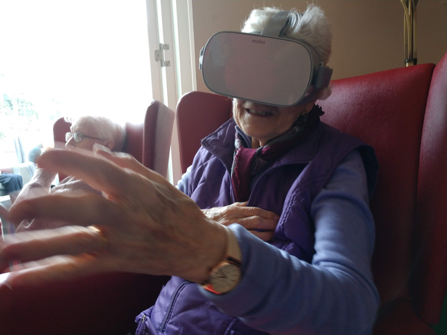 Virtual Reality health sessions in GP surgeries