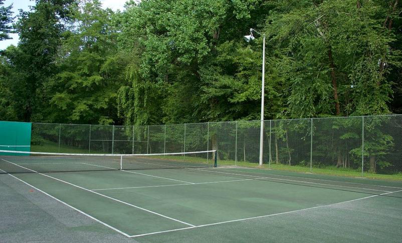 Tennisvellir í Hljómskálagarðinum