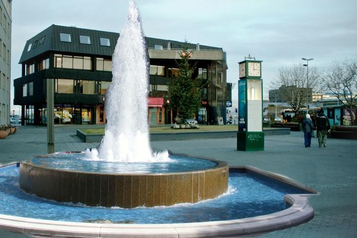 Gosbrunnur á Lækjartorg