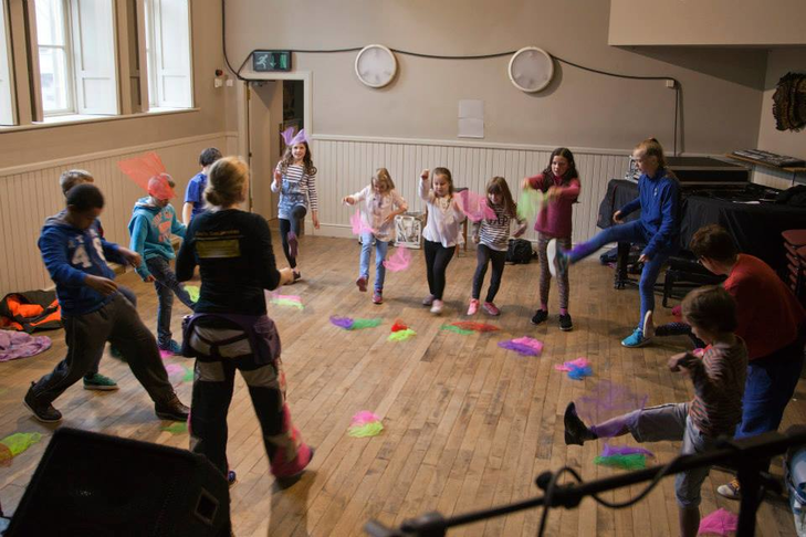 Tiree - Educational Dance Programme