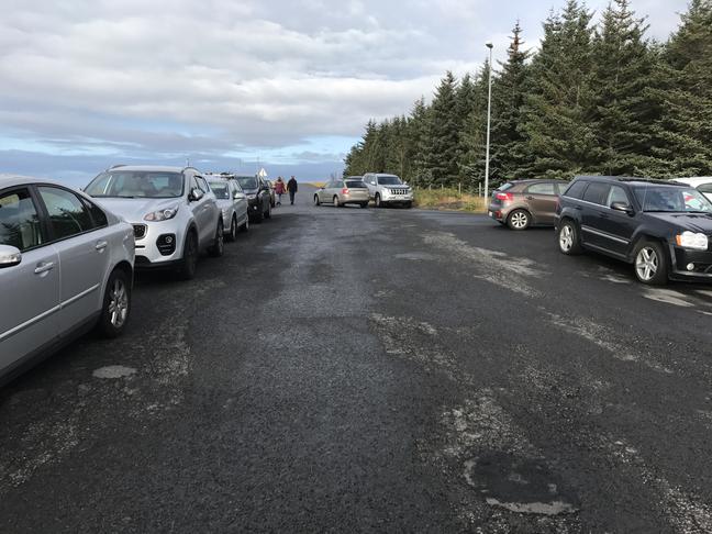 Félagsheimilið Garðaholt, stækka bílaplanið