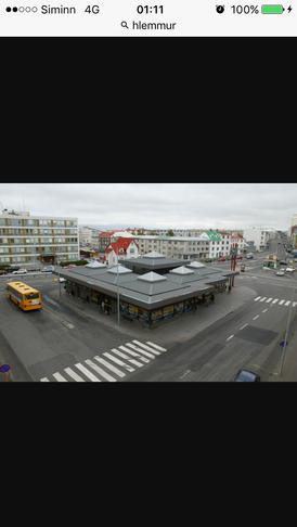 Fleiri tré og gróður við Hlemm