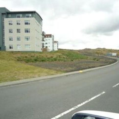 Lóðafrágangur við Boðaþing.