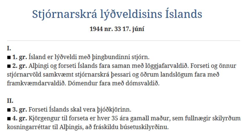 Stjórnarskrárfræðsla og réttindalæsi