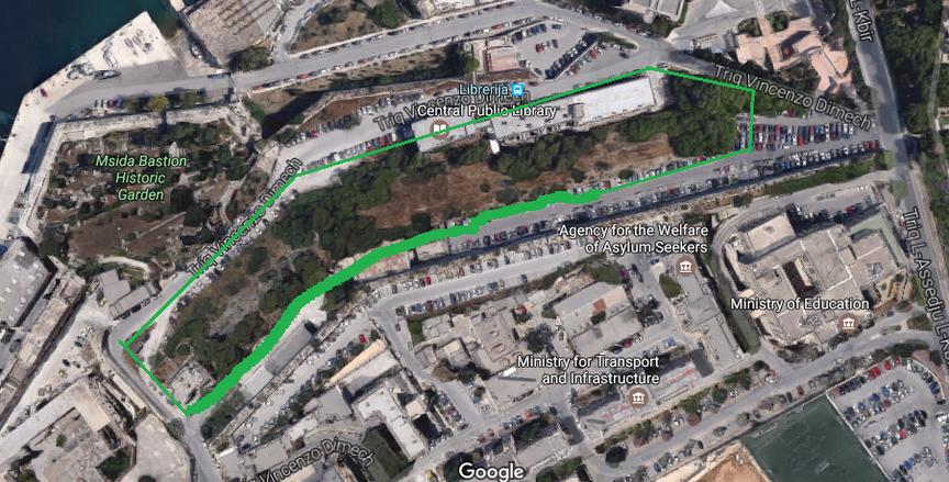 Iz-zona tal-Ospizio ssir zona residenzjali għall-Furjaniżi