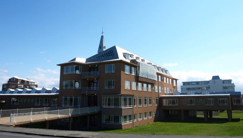 Túnið við embætti landlæknis