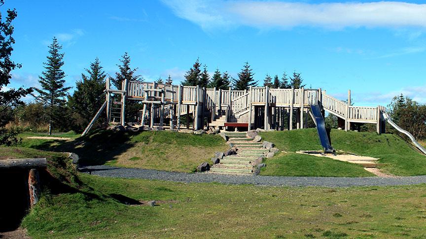 fleiri leiktæki við Gufunesbæ