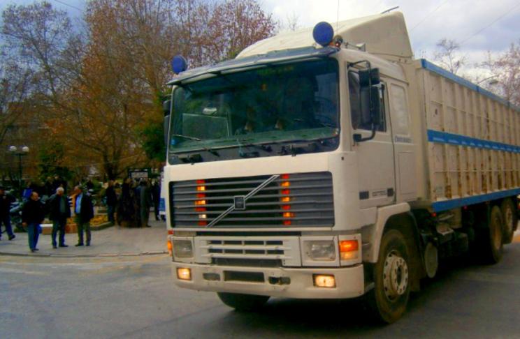 Απαγόρευση της κυκλοφορίας μεγάλων οχημάτων στο κέντρο