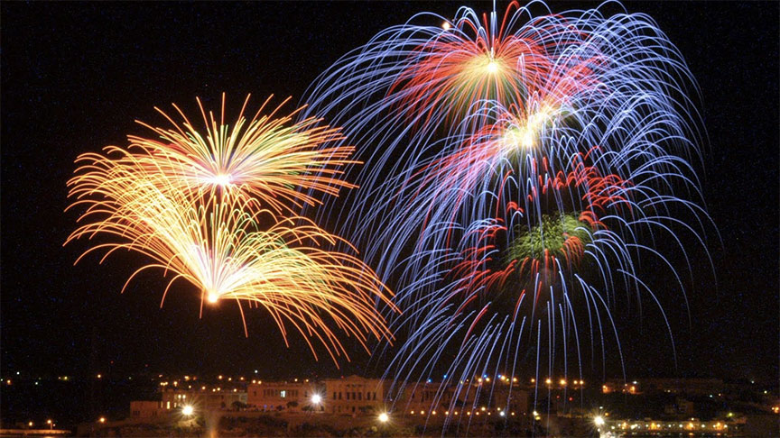 Monitor fireworks air and noise pollution