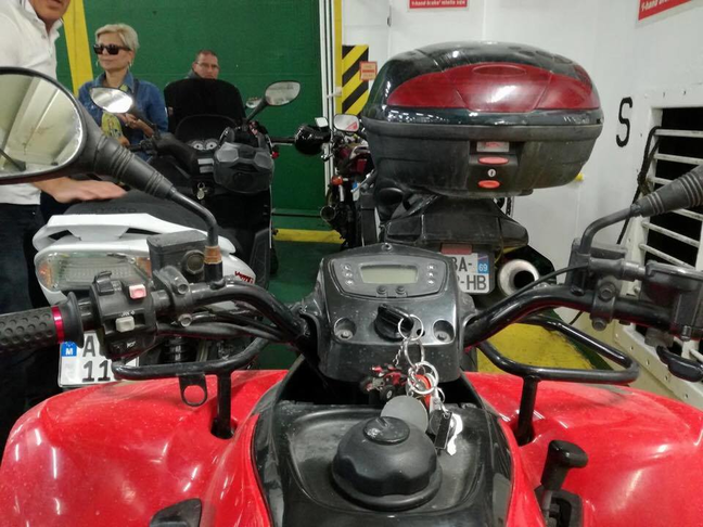 Quad bike rates on Gozo Channel/Priority lane/License