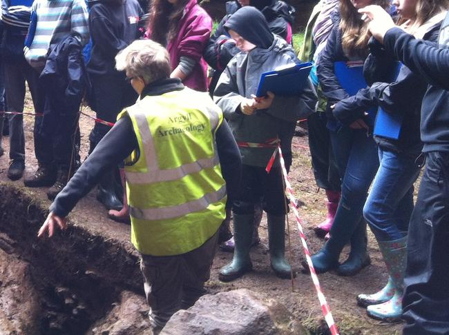 Lephin Glengorm Archaeological Excavation