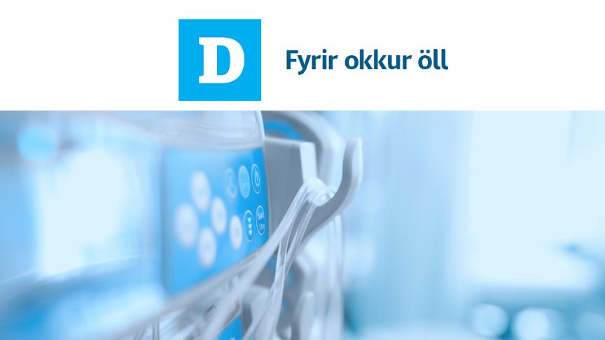 Við viljum innleiða tækninýjungar í heilbrigðisþjónustu.