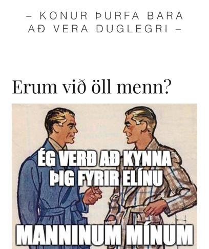 Að kynjafræði verði hluti af skyldunámi til kennsluréttinda
