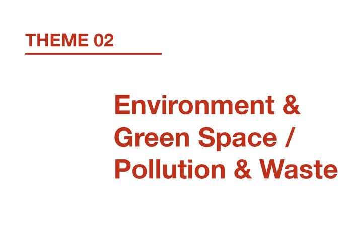 Environment & Green Space / Pollution & Waste