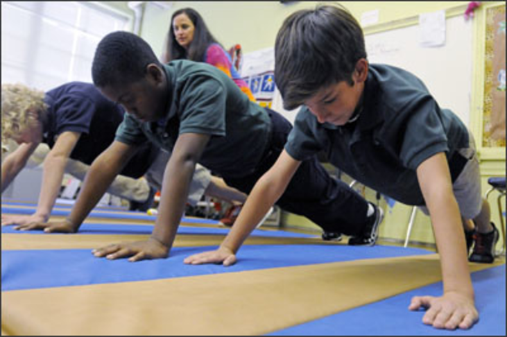 Daily Physical Education Lessons in Schools