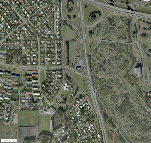 Gatnamót Bústaðavegar og Reykjanesbrautar