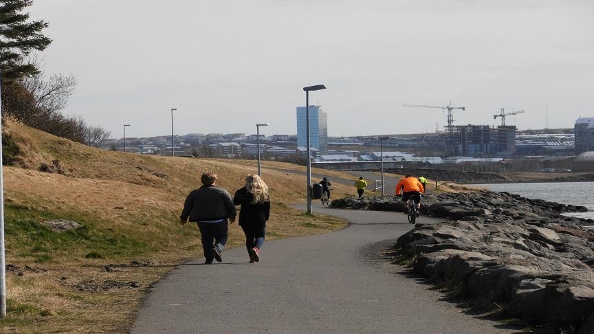 Útivistar- og áningarstaður fyrir göngufólk