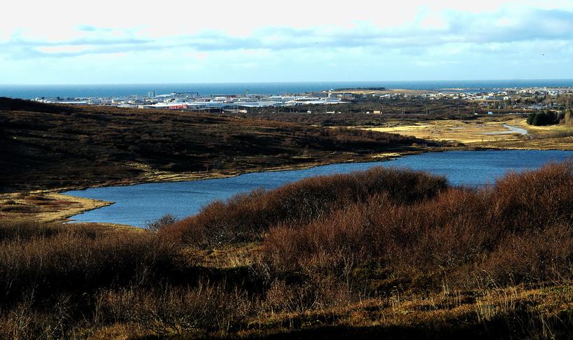 Göngustígur á milli Kópavogs og Garðabæjar - Elliðavatnsveg