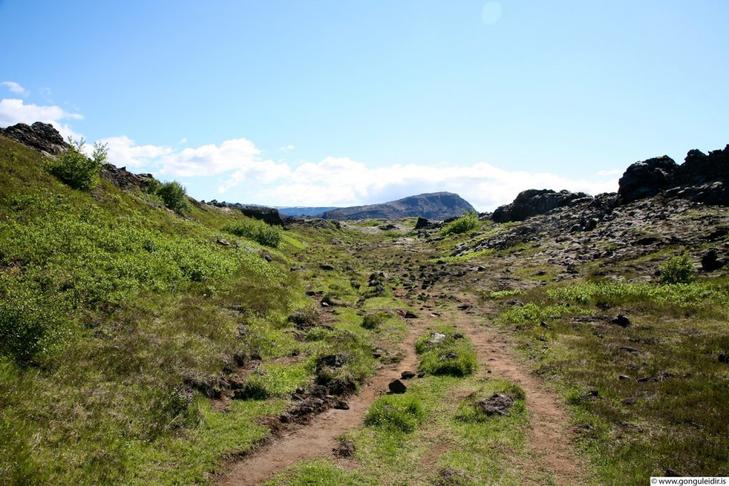 Aðstaða fyrir gangandi, hlaupandi og hjólandi í Garðabæ.
