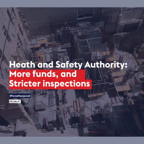 Heath and Safety Authority: more funds, stricter inspections