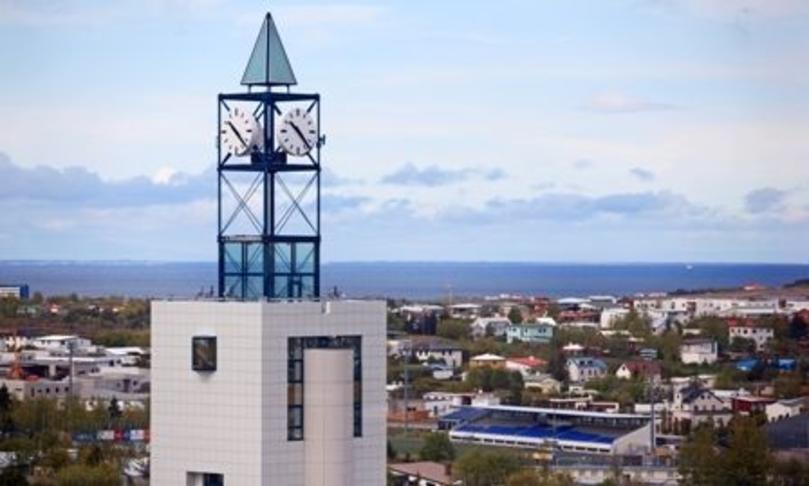 Klukkuturn á Garðatorgi