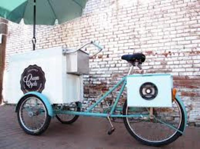 Peddle powered trailer bike